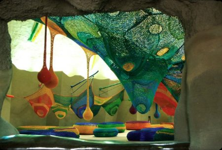 Showa Memorial National Park crochet playground Visual Chronology of Crochet Playgrounds by Toshiko Horiuchi Macadam
