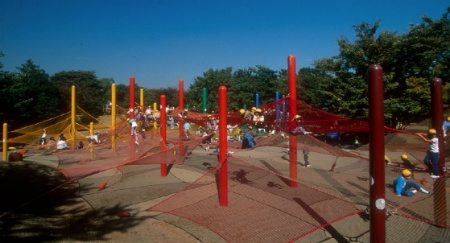 Showa Memorial National Park Visual Chronology of Crochet Playgrounds by Toshiko Horiuchi Macadam