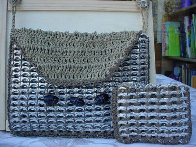 aluminum tab crochet 400x300 20 Delightful Hemp Crochet Designs to Inspire Your Organic Side