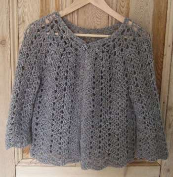 Free Crochet Pattern Lace Sweater :  CROCHET PATTERN SWEATER FREE