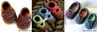 crochet baby shoes patterns 400x134 10 Most Popular Crochet Patterns To Buy Online (+16 More People Love)