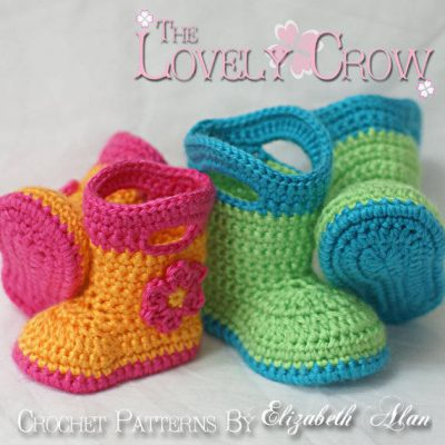 crochet boots pattern 400x400 10 Most Popular Crochet Patterns To Buy Online (+16 More People Love)
