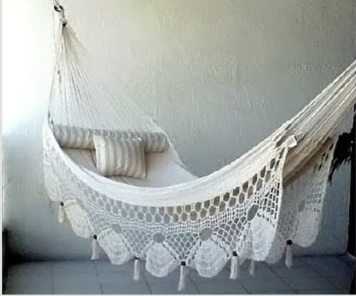Summer Days 12 Gorgeous Crochet Hammocks For Relaxation