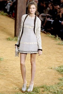 crochet dress Designer Crochet: Karl Lagerfeld