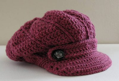 crochet hat pattern 400x272 10 Most Popular Crochet Patterns To Buy Online (+16 More People Love)