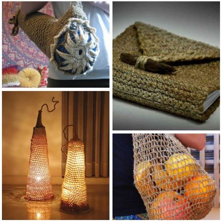 crochet hemp ideas