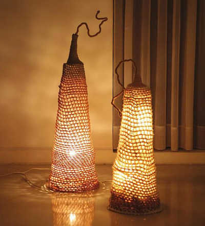 crochet lights 16 Crochet Lamps That Will Shed a New Light on Your Space