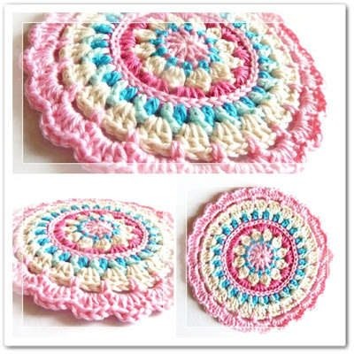 Best Crochet Patterns : Crochet Mandalas 7 Best Crochet Mandala Patterns LONG HAIRSTYLES