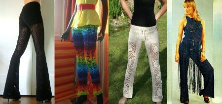 crochet pants1 Crochet Blog Roundup: July in Review