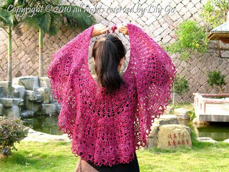 crochet shawl pattern2 How to Crochet a Shawl: The Ultimate Resource Guide