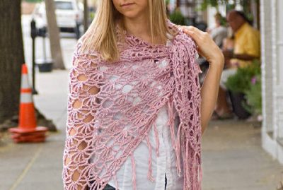 crochet shawl pattern3 400x269 10 Most Popular Crochet Patterns To Buy Online (+16 More People Love)
