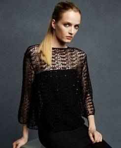 crochet top Designer Crochet: The 50 Famous Fashion Designers Project