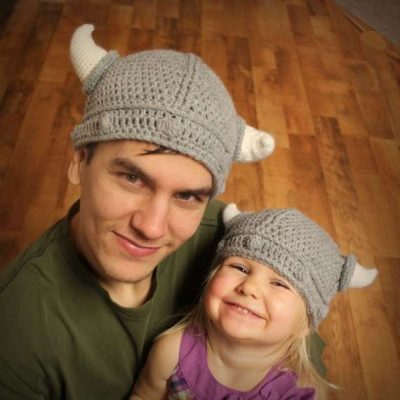crochet viking hat 400x400 10 Most Popular Crochet Patterns To Buy Online (+16 More People Love)