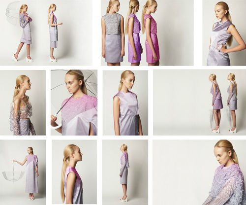 eco friendly ph dresses Eco Clothing Changes Colors to Show Air Quality