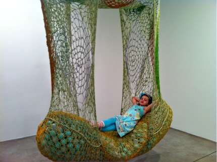 ernesto neto crochet hammock Summer Days: 12 Gorgeous Crochet Hammocks for Relaxation and Rejuvenation