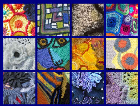 Post image for Astonishing Freeform Crochet Art Inspired by Music and Art