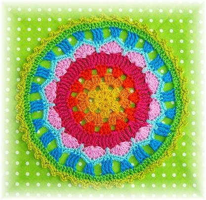 german crochet mandala 7 Best Crochet Mandala Patterns