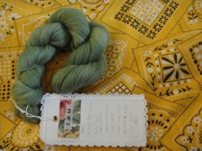 green yarn 400x300 Then And Now: A Look Back at Last Year in Crochet (7/29   8/11)