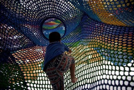 hakone forest net Visual Chronology of Crochet Playgrounds by Toshiko Horiuchi Macadam