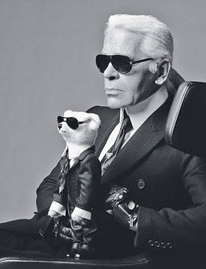 karl lagerfeld 2012 in Crochet: Crochet Fashion
