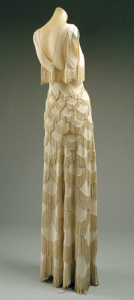 madeleine vionnet dress Designer Crochet: Madeleine Vionnet