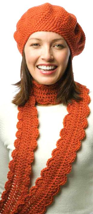Ravelry: Reverse Single Crochet Hat & Scarf Set (Scarf) pattern by Lion Brand Yarn Find this Pin and more on Crochet Hat & Scarf Sets by Linda Huff. Lion Brand Yarn is America's oldest craft yarn company with active yarn families.