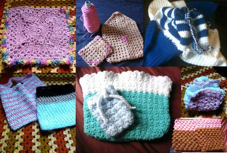 more crochet bags My Year of Projects: Last Year/ This Year