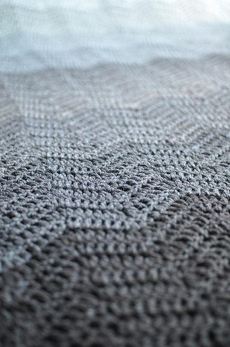 neutral crochet ripple blanket Crochet Link Love, end of July