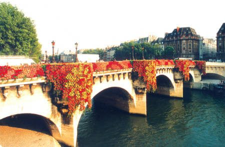 pont neuf flower bridge kenzo Designer Crochet: Kenzo Takada