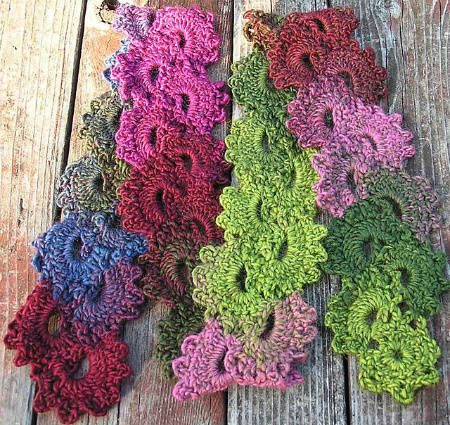 Crocheting Scarf : Browse Patterns TWISTED CROCHET LACE SCARF