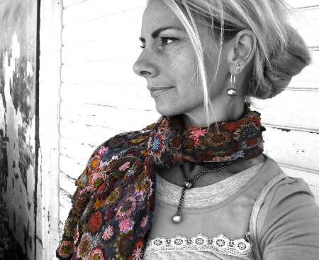 Sophie Digard Crochet Scarves: France, Madagascar and Fair