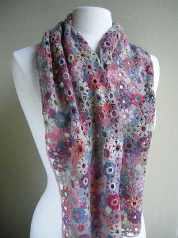 sophie digard crochet scarves Sophie Digard Crochet Scarves: France, Madagascar and Fair Trade