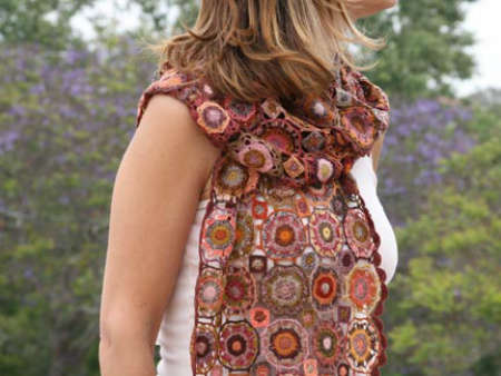 sophie digard scarf Sophie Digard Crochet Scarves: France, Madagascar and Fair Trade