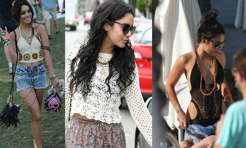 Post image for Vanessa Hudgens is Always in Crochet