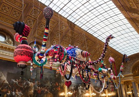 vasconcelos crochet Crochet Works in Vasconcelos Versailles Exhibit