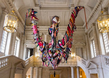 versailles crochet art Top 10 Examples of Extreme Crochet Art