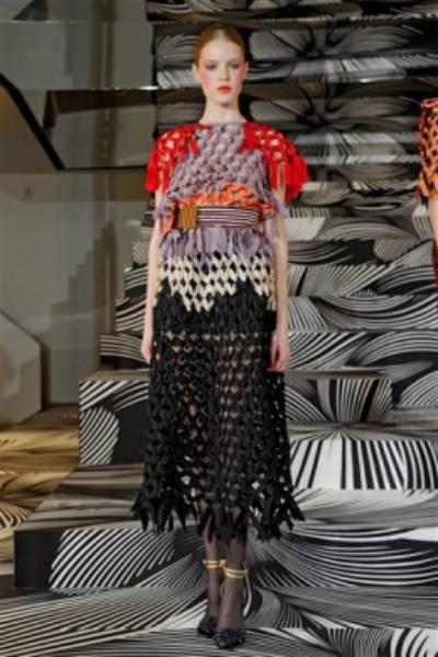 vionnet crochet Designer Crochet: Madeleine Vionnet