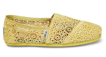 yellow crochet toms Krochet Kids Vans Crochet Shoes