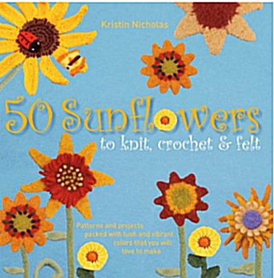 Post image for Sunflowers Crochet Book Review, Author Interview and Giveaway