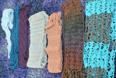 Sharon Silverman Crochet Scarves Sneak Peak: Scarves, Scarves and More Scarves
