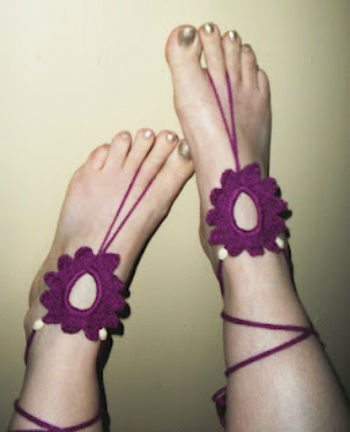 barefoot beaded sandals Top 10 Free Crochet Patterns for Barefoot Sandals