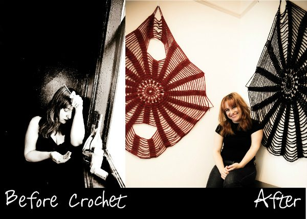 before and after crochet A Picture Worth a Thousand Words