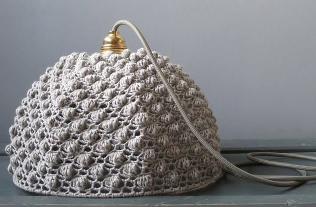 Crochet Lite : 16 Crochet Lamps That Will Shed a New Light on Your Space