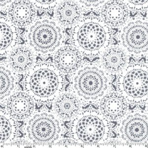cotton doily print Fabrics Designed with Crochet Lovers in Mind