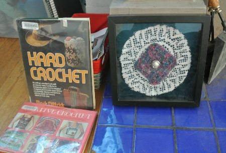 crochet art and books My Crochet Home: Around the Fireplace