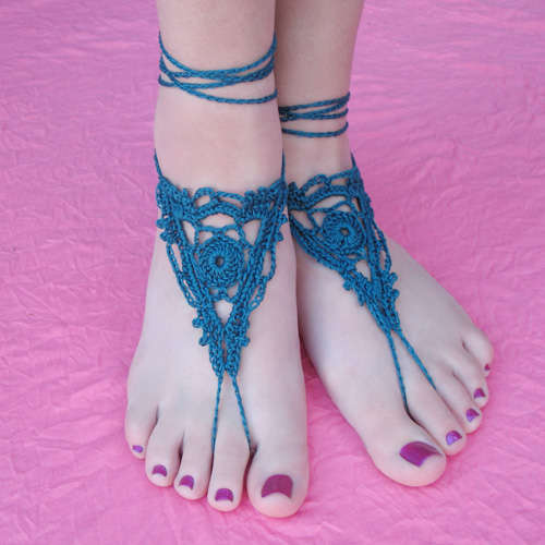 Top 10 Free Crochet Patterns For Barefoot Sandals Crochet Patterns