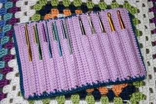 crochet hook organizer Then And Now: A Look Back at Last Year in Crochet (8/12 8/25)