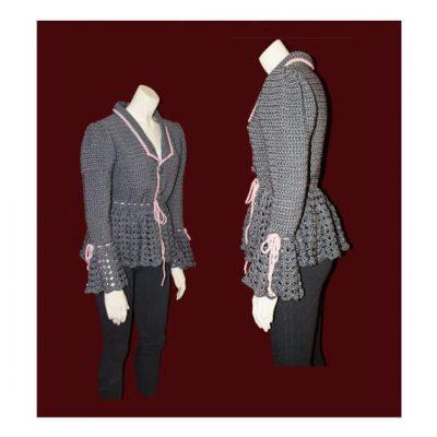 crochet jacket 400x400 Etsy Crochet Designer Annie Briggs
