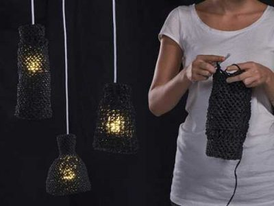 crochet lamp kit 400x300 16 Crochet Lamps That Will Shed a New Light on Your Space