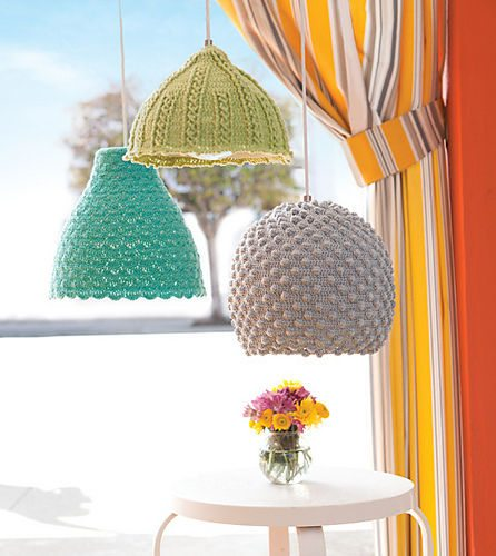 crochet lamps 16 Crochet Lamps That Will Shed a New Light on Your Space